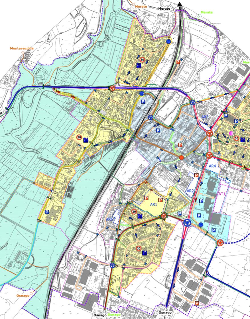 Piano Urbano del Traffico di Cernusco Lombardone