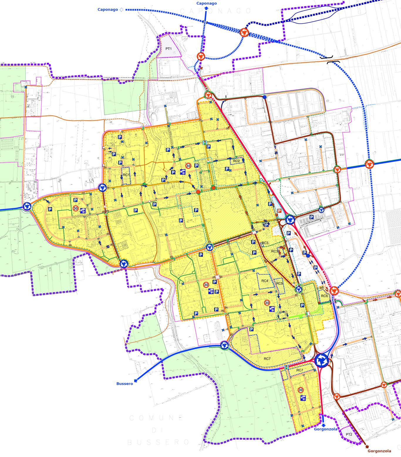 Piano Generale del Traffico Urbano di Pessano con Bornago