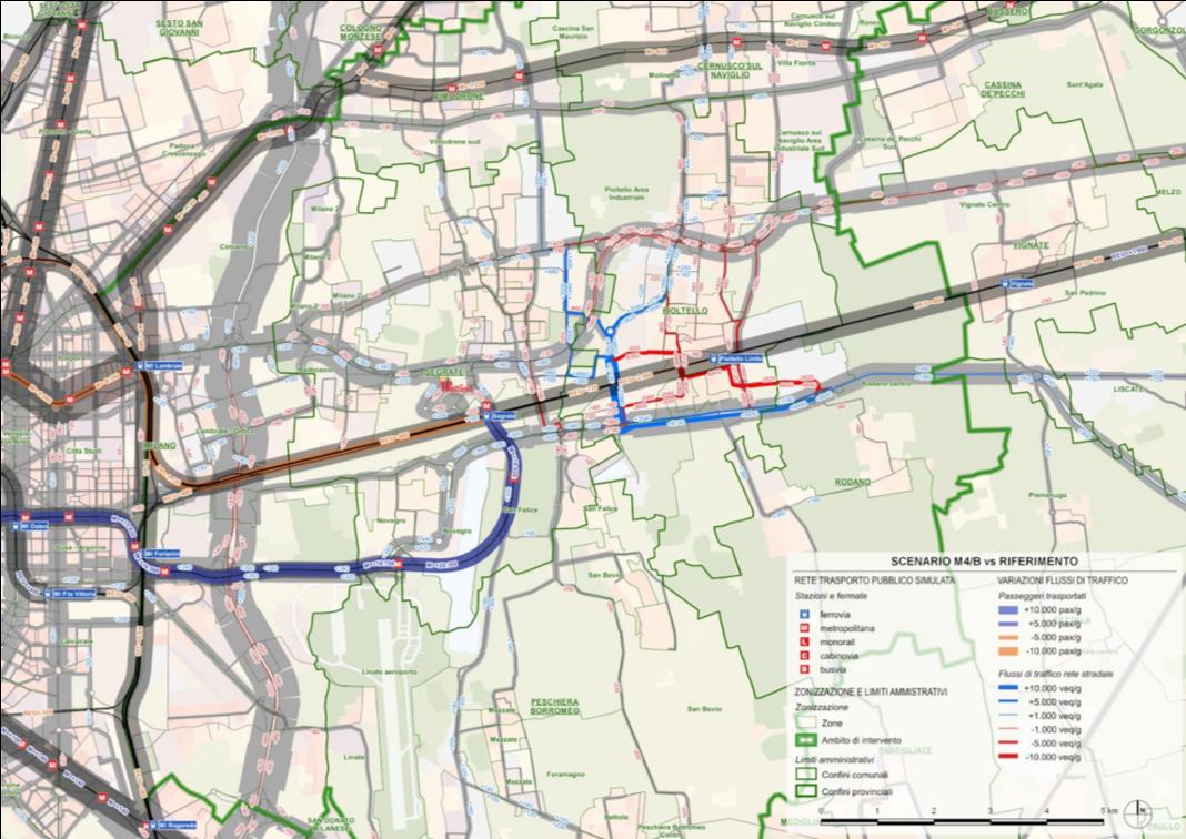 Hub metropolitano Segrate porta est: analisi trasportistica