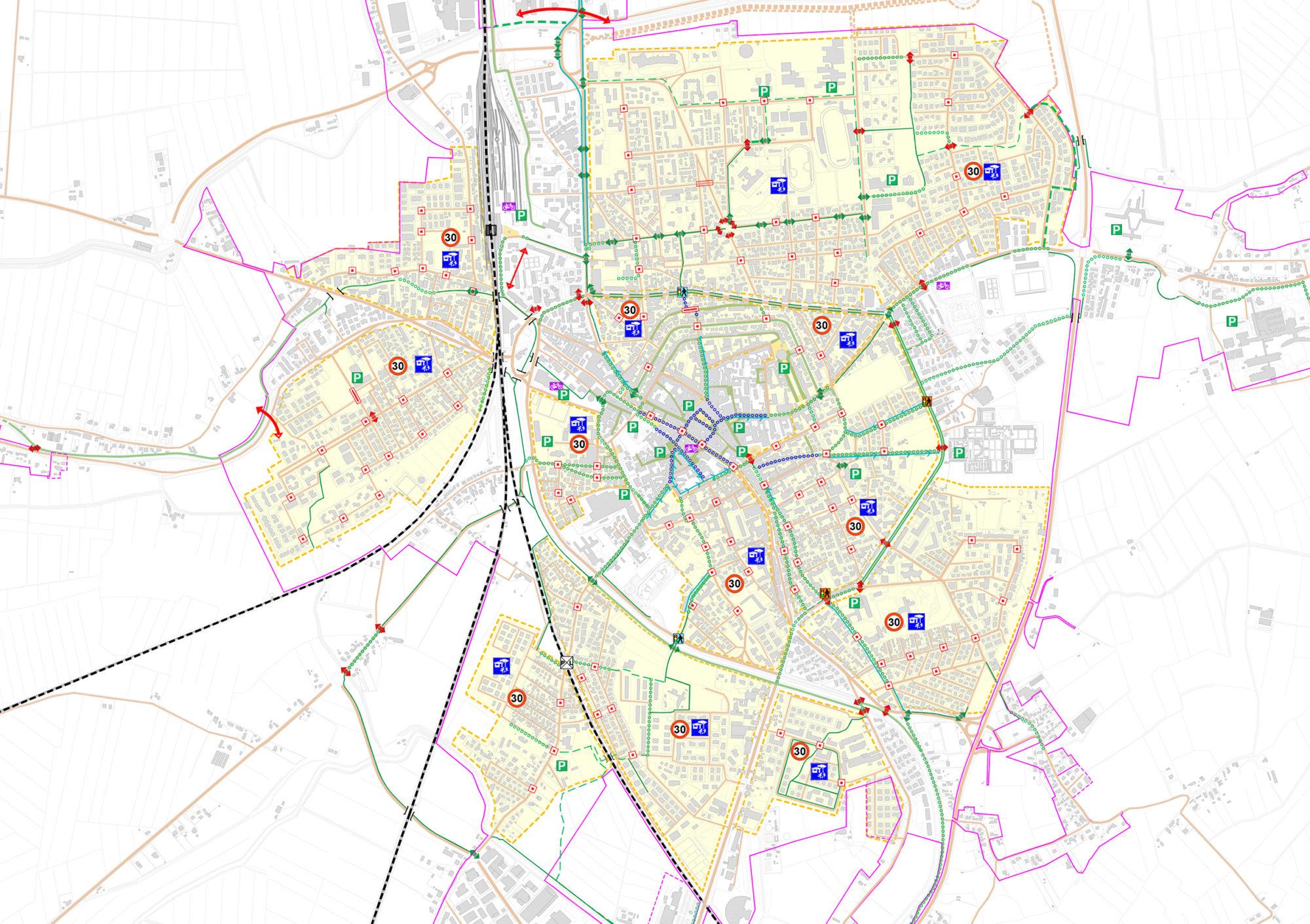 Piano Generale del Traffico Urbano di Rovigo