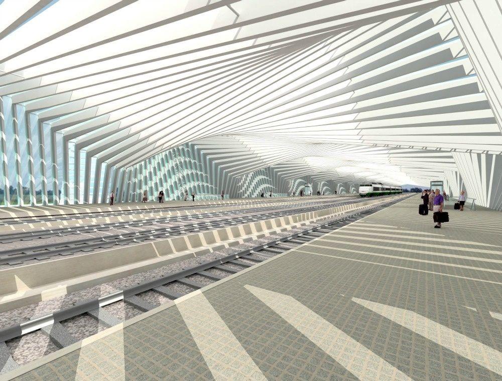 Nuovo nodo di interscambio fra la A1 e la stazione AV-Mediopadana